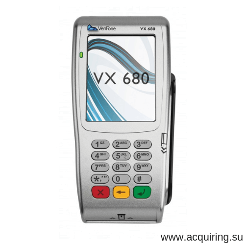 Мобильный POS-терминал Verifone VX680 (Wi-Fi, Bluetooth) под Прими Карту в СПБ
